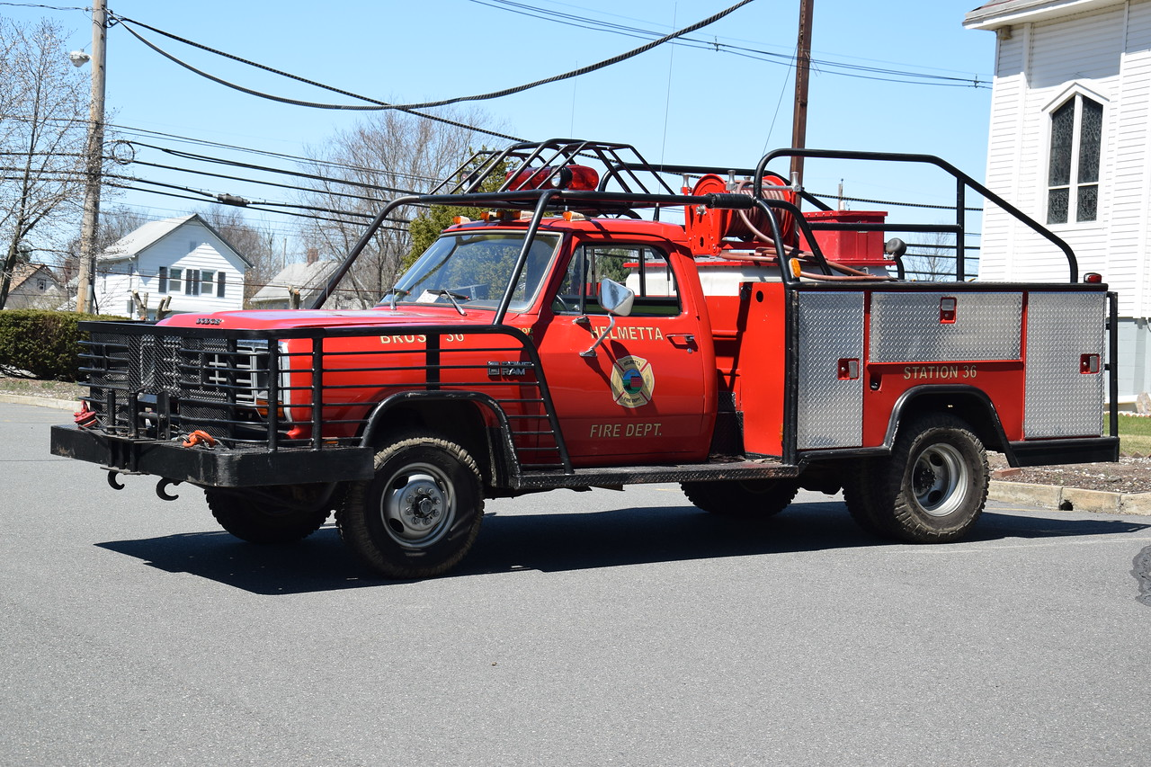 Helmetta Fire Department Bush 36