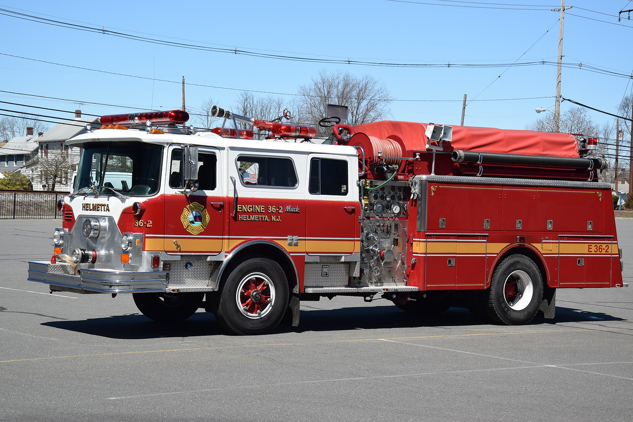 Helmetta Fire Department Engine 36-2
