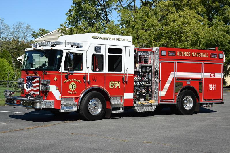Holmes Marshall Fire Company Engine 671