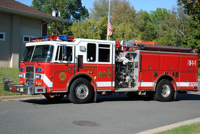 Holmes Marshall Fire Company Engine 672