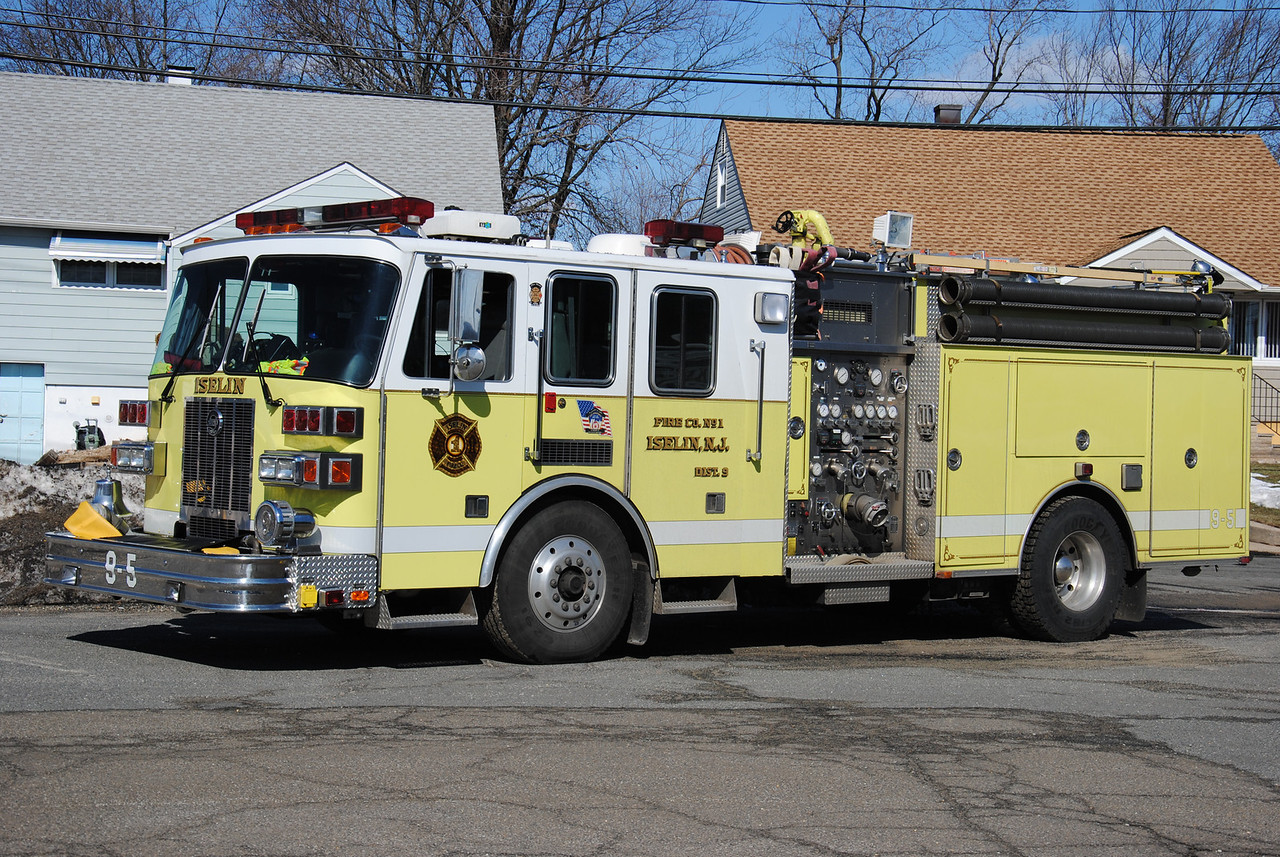 Iselin Fire Company #1,Woodbridge Twp Engine 9-5