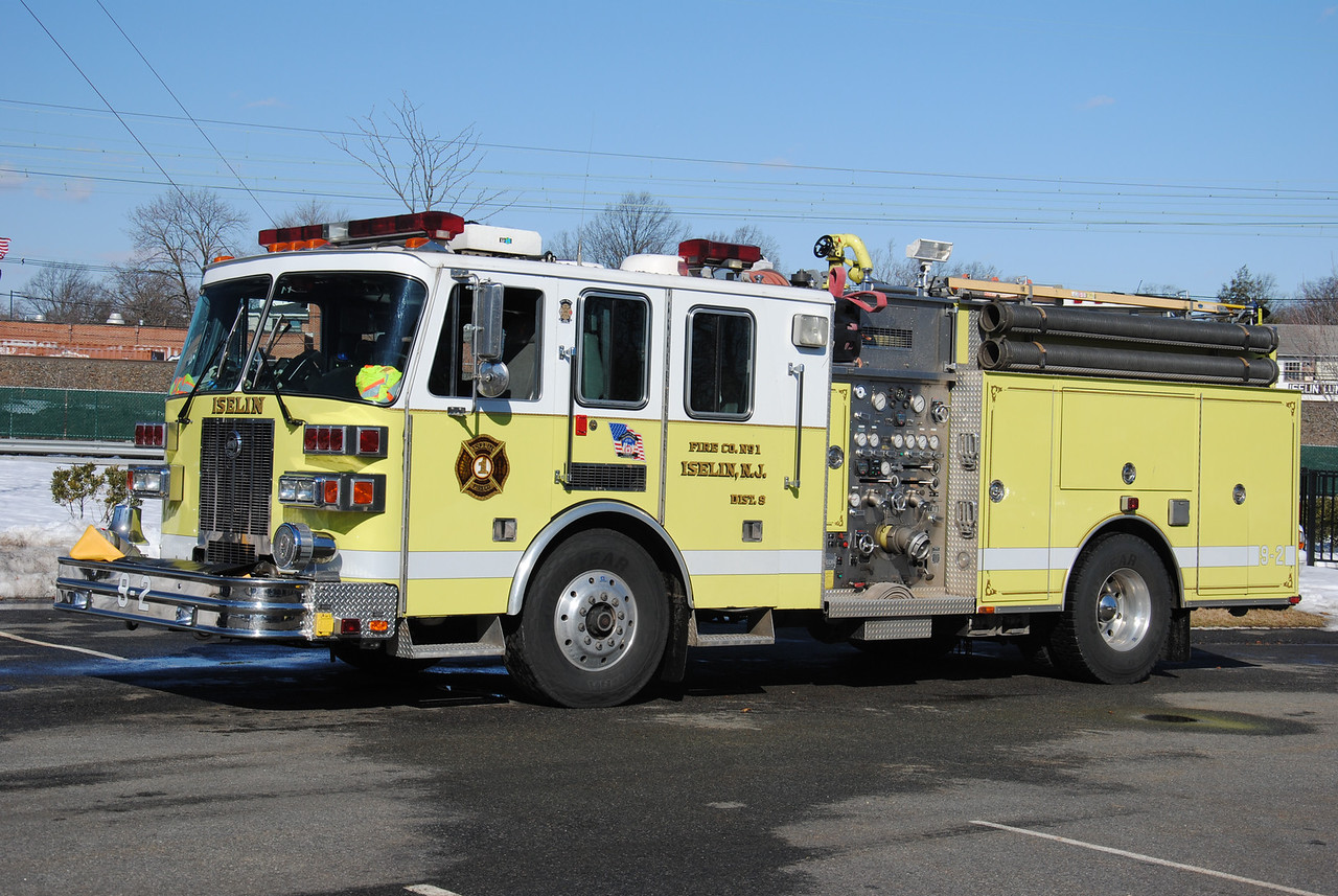 Iselin Fire Company #1,Woodbridge Twp Engine 9-2