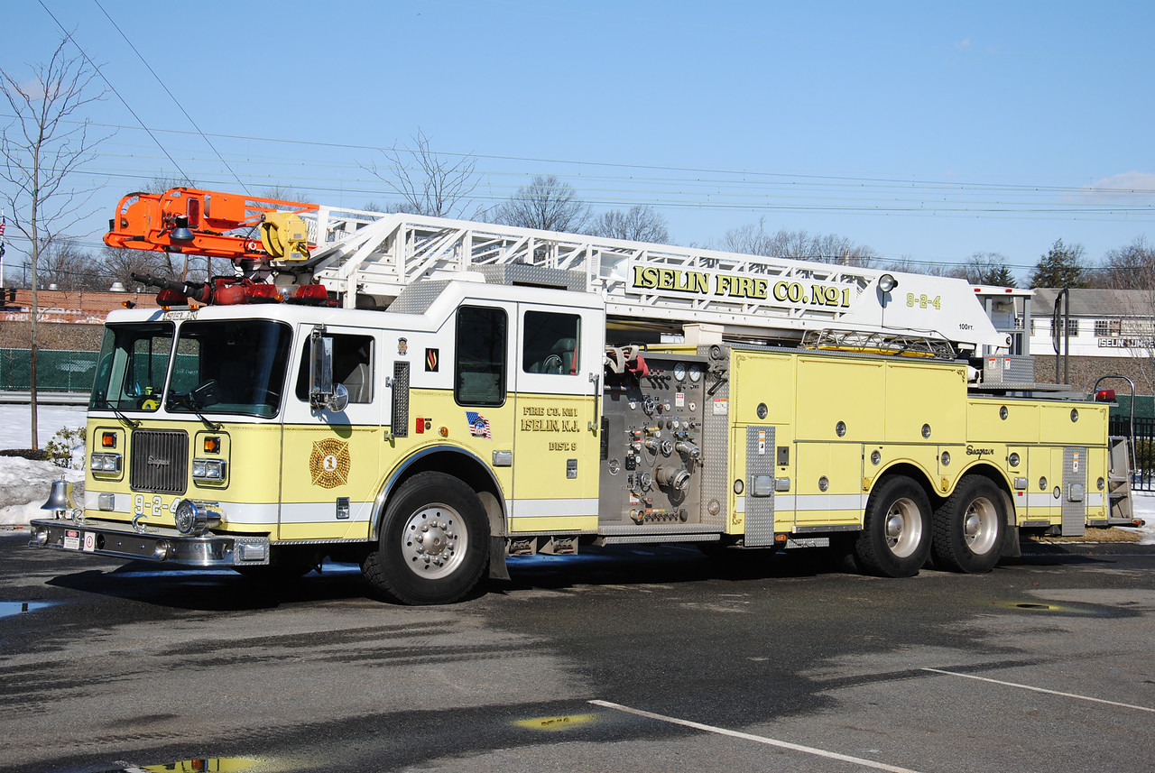 Iselin Fire Company #1,Woodbridge Twp Ladder 9-2-4