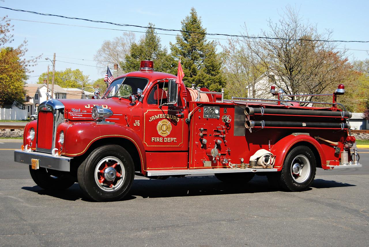 Jamesburg Fire Department Antique J-5