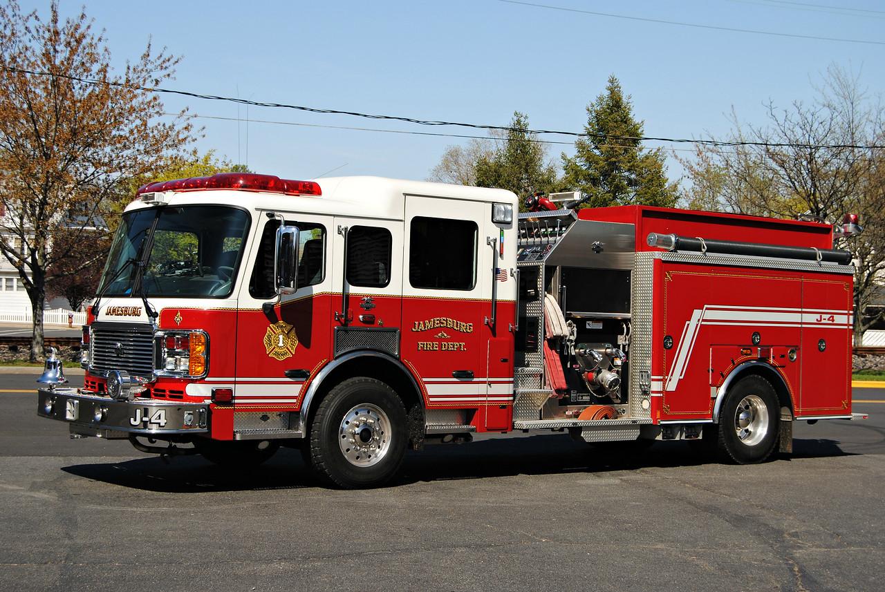Jamesburg Fire Department Engine J-4