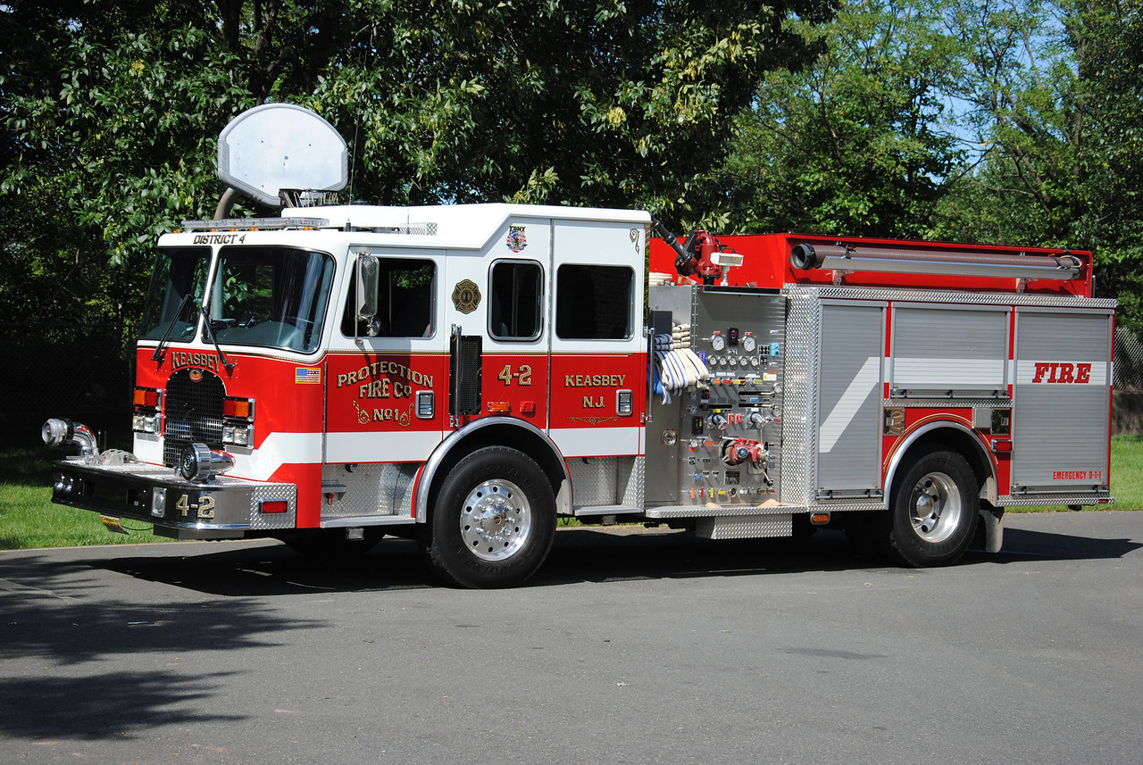 Protection Fire Company #1, Keasbey Engine 4-2