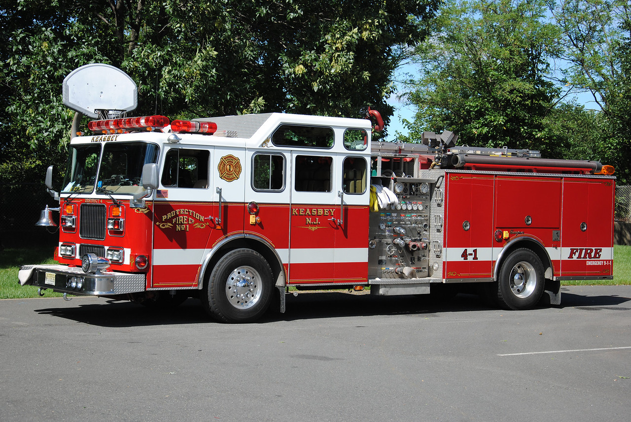 Protection Fire Company #1, Keasbey Engine 4-1