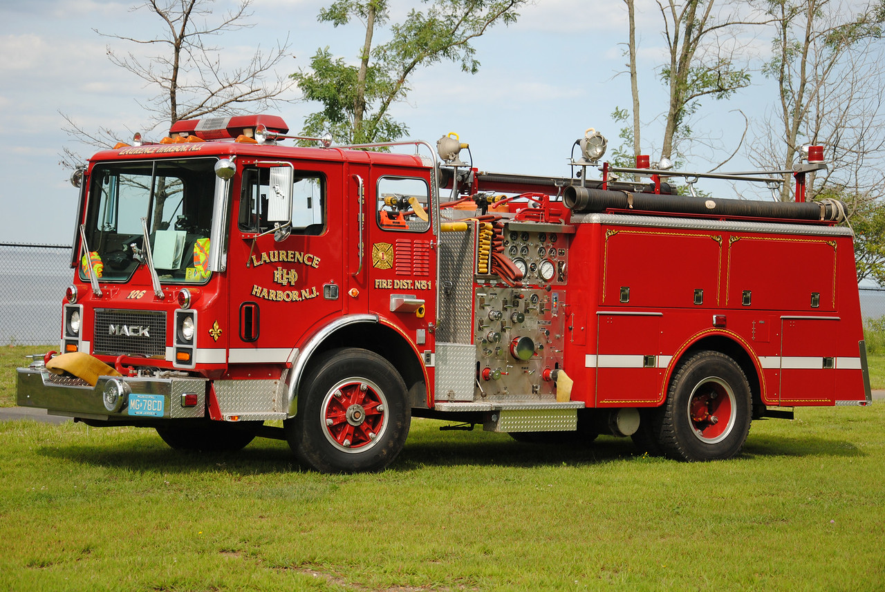 Laurence Harbor Fire Department, Old Bridge Engine 106