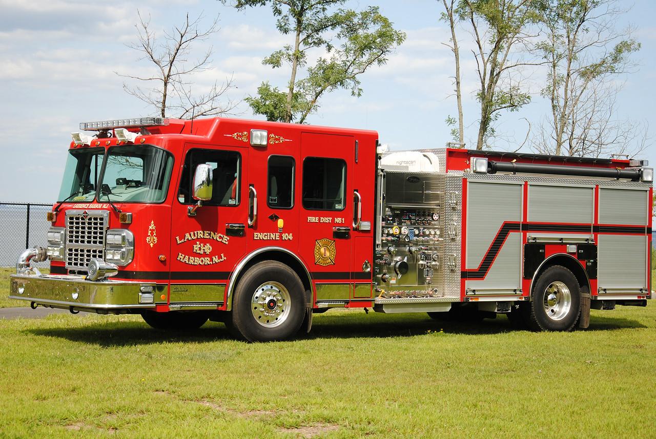 Laurence Harbor Fire Department, Old Bridge Engine 104