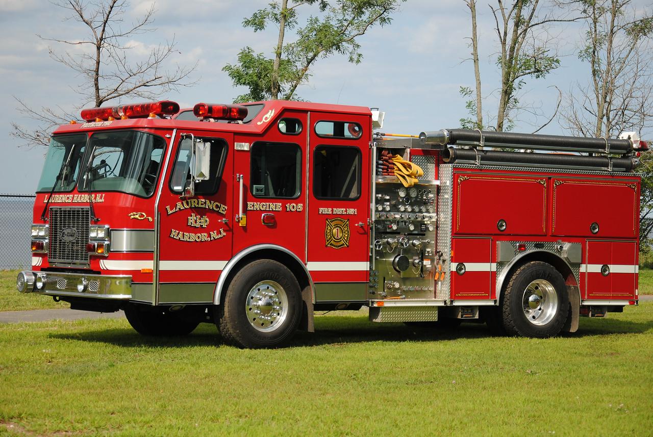 Laurence Harbor Fire Department, Old Bridge Engine 105