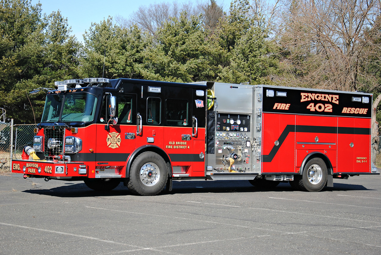 Madison Park Fire Department Rescue-Engine 402