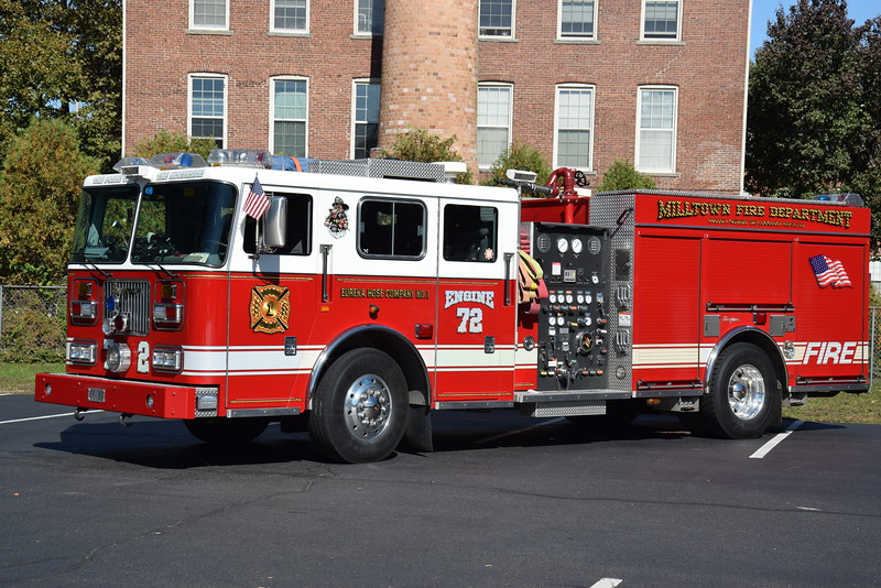 Eureka Hose Company #1, Engine 72