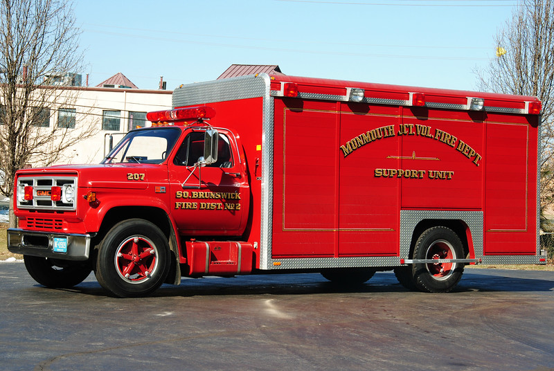 Monmouth Junction Fire Department Support 207