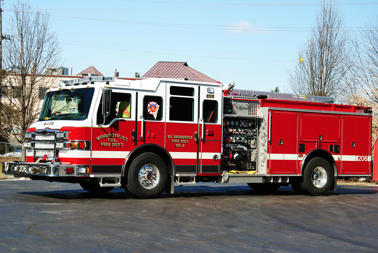 Monmouth Junction Fire Department Engine 206