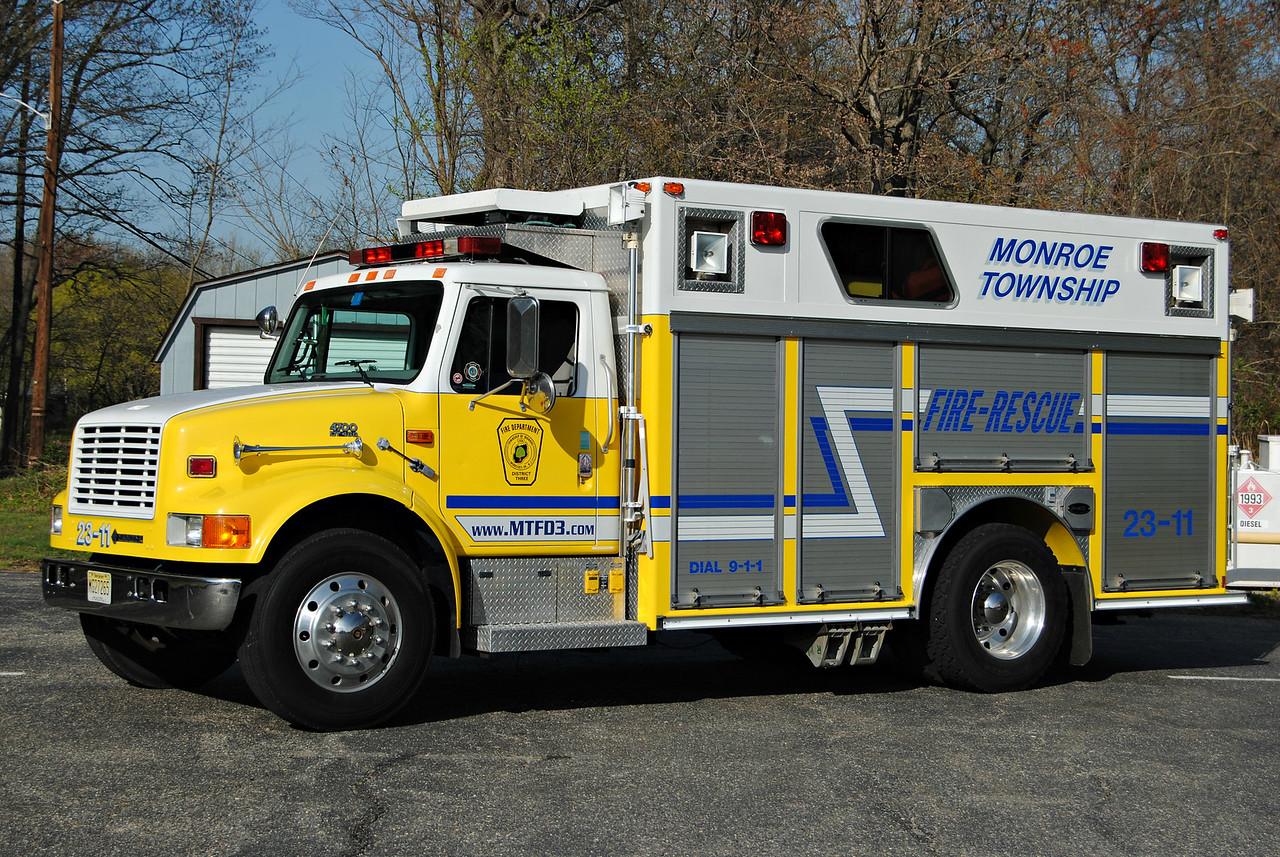 Monroe Fire District #3 Rescue 23-11