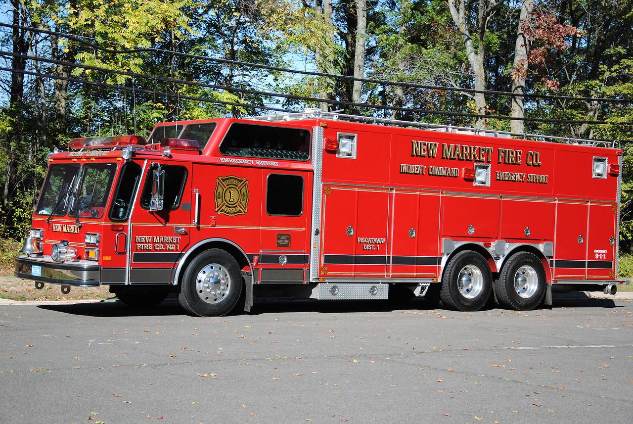 Ex-New Market Fire Company #1 Rescue 1