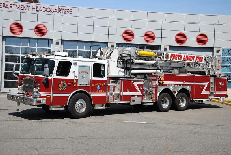 EX-Perth Amboy Fire Department Ladder 2