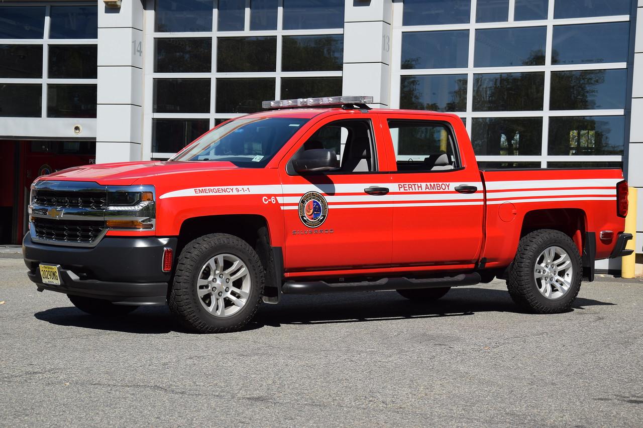 Perth Amboy Fire Department C-6