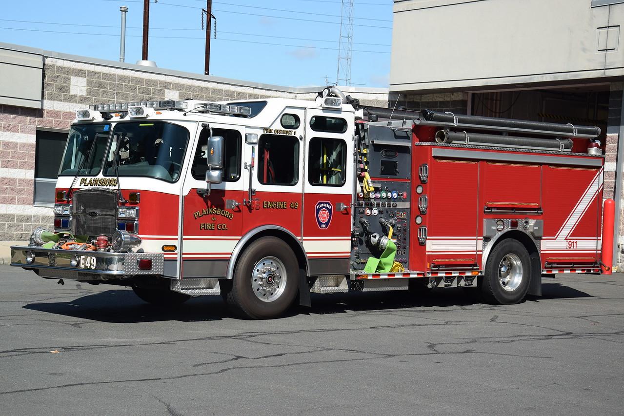 Plainsboro Fire Company Engine 49