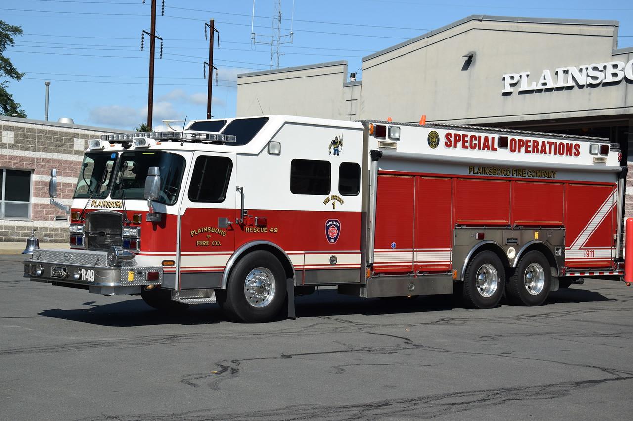 Plainsboro Fire Company Rescue 49