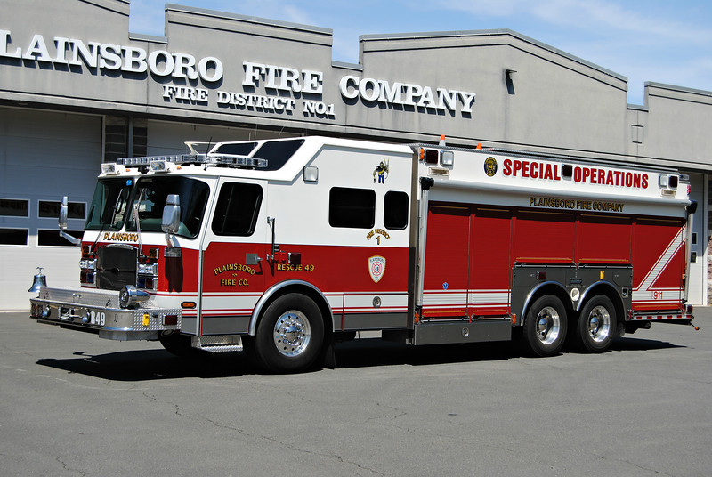 Plainsboro Fire Company Rescue 49
