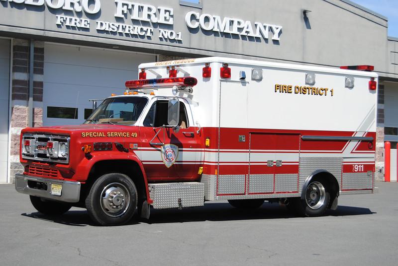 Ex-Plainsboro Fire Company Special Services 49