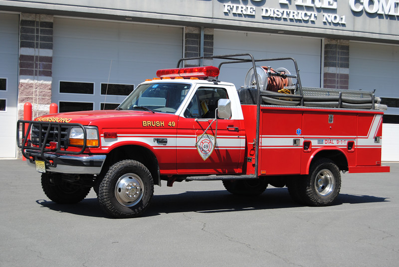 Ex-Plainsboro Fire Company Brush 49