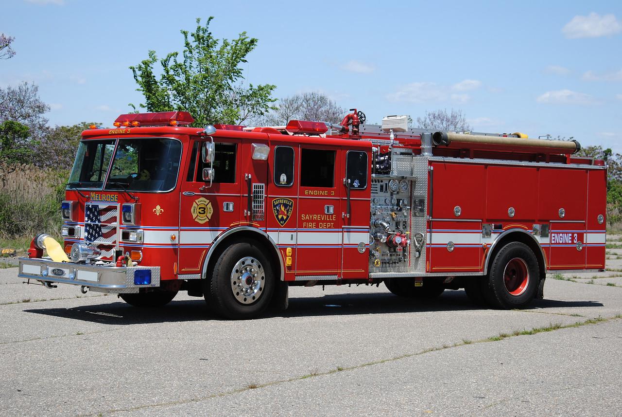 Melrose Hose Company #1 Engine 3