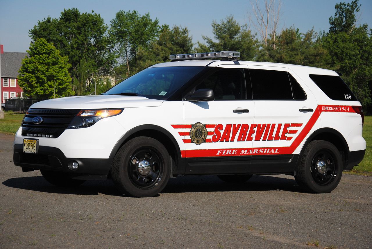Sayreville Fire Marshal Car 120