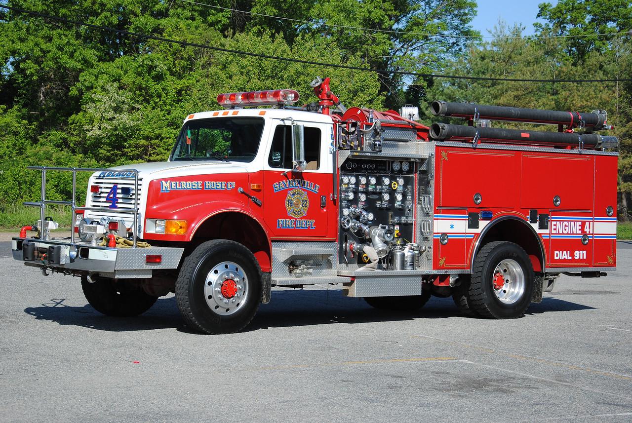 Ex-Melrose Hose Company #1 Engine 4