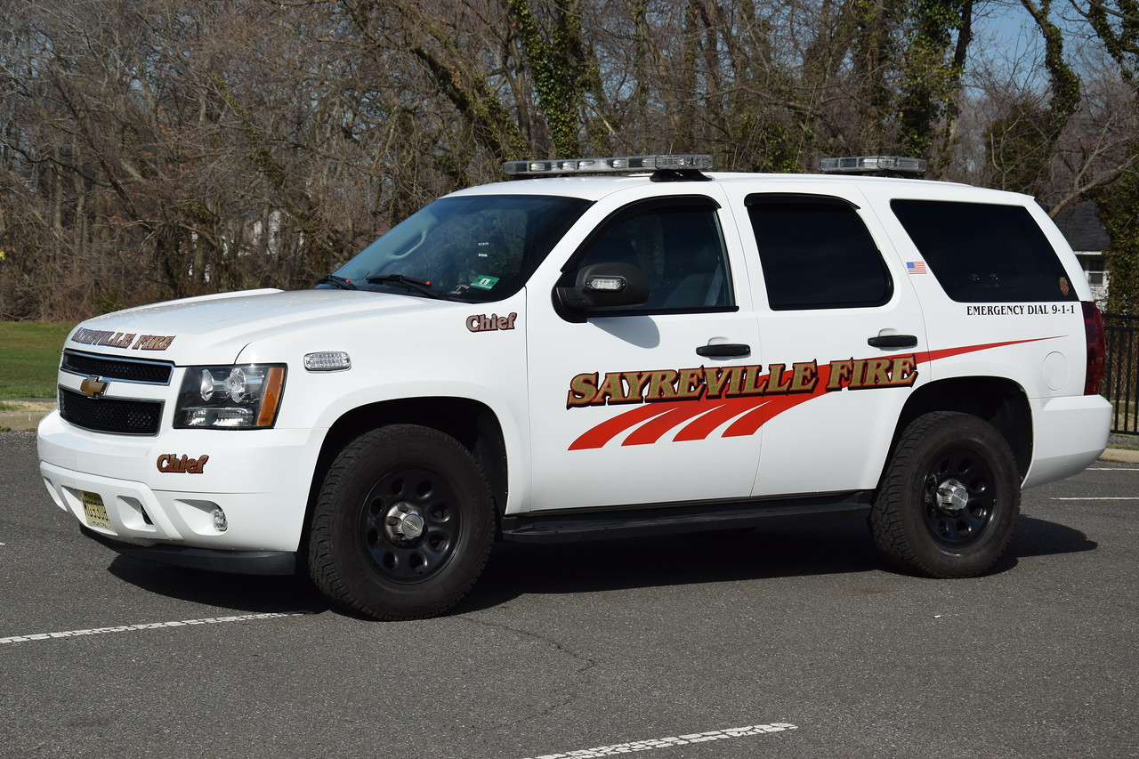 Sayreville Fire Department Chief 111