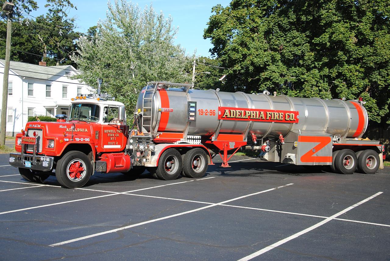 Adelphia Fire Company Tanker 19-2-96