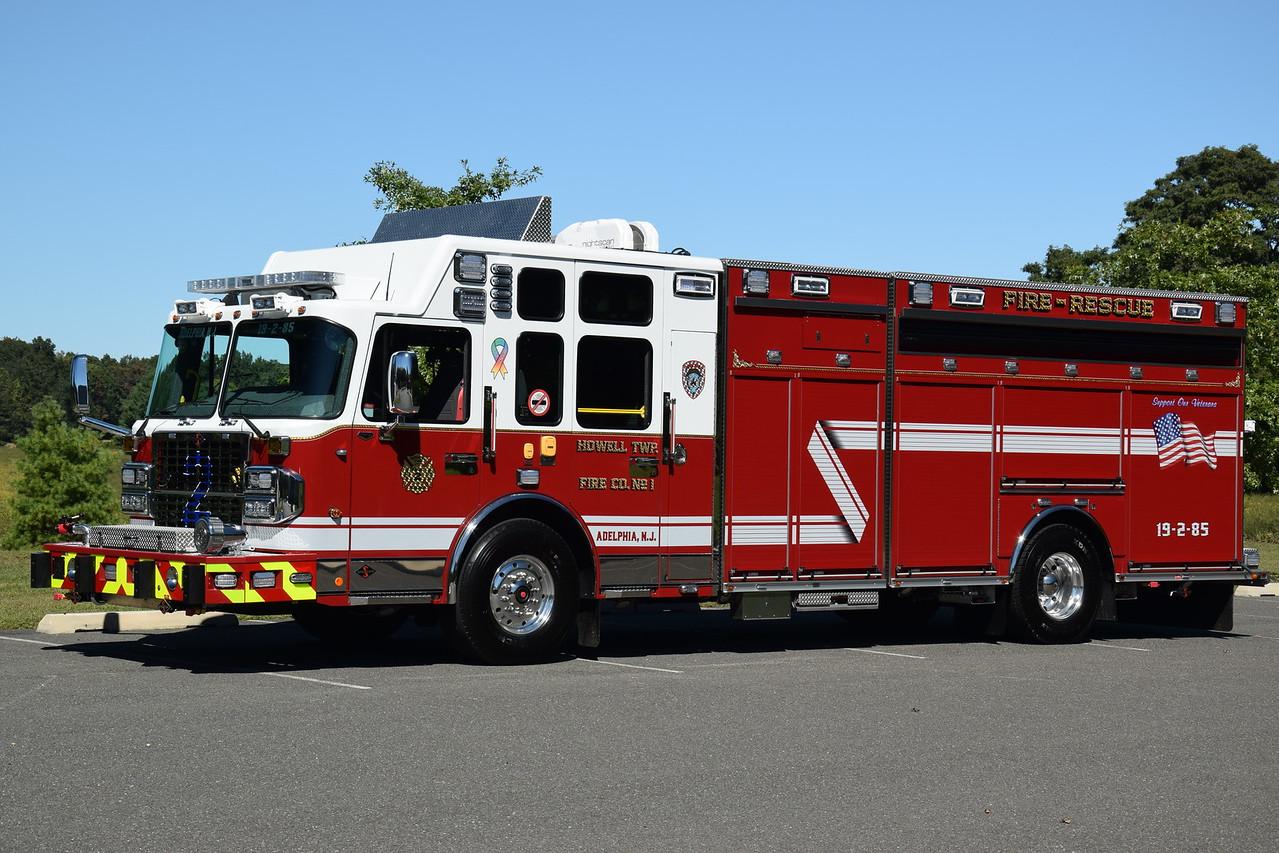 Adelphia Fire Company Rescue 19-2-85