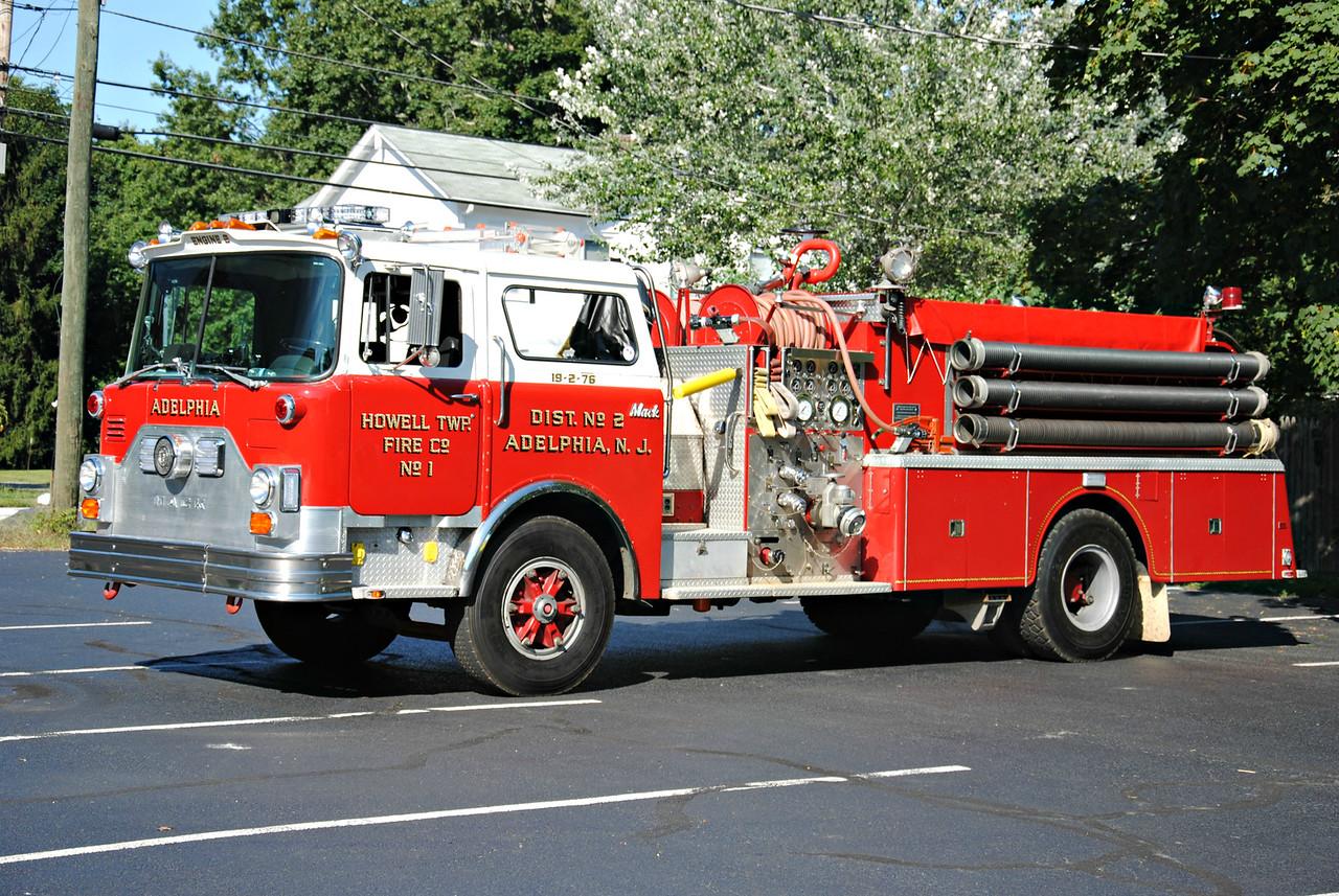 Adelphia Fire Company Engine 19-2-76