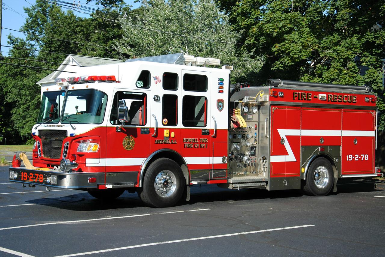 Adelphia Fire Company Engine 19-2-78