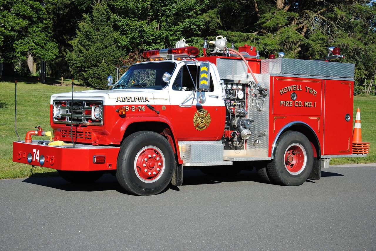 Adelphia Fire Company Engine 19-2-74