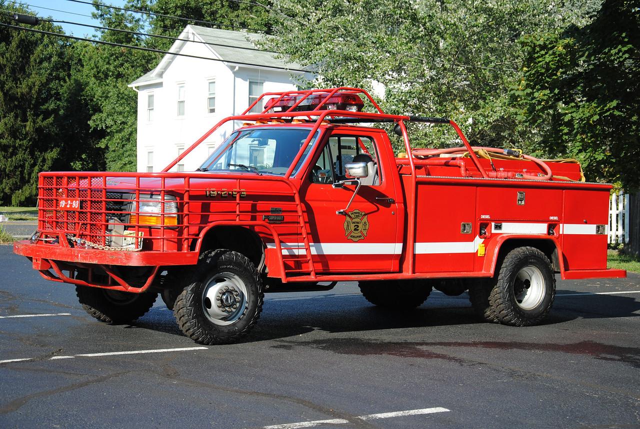 Adelphia Fire Company Brush 19-2-93