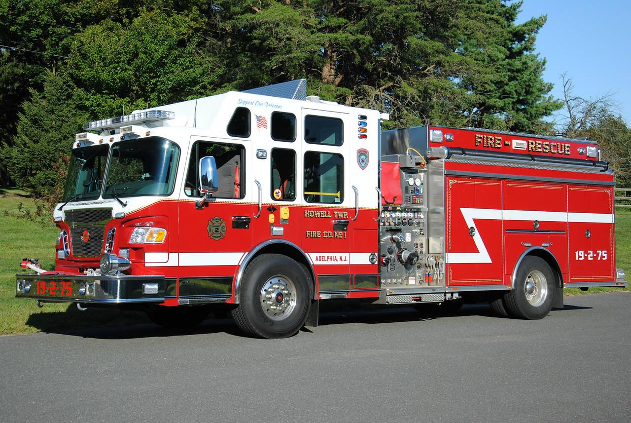 Adelphia Fire Company Engine 19-2-75