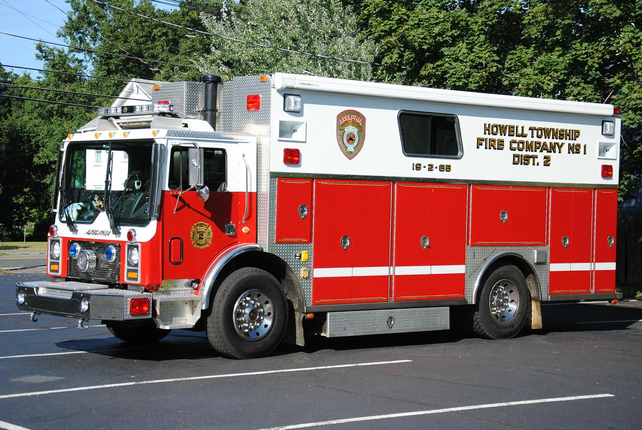Ex-Adelphia Fire Company Rescue 19-2-85