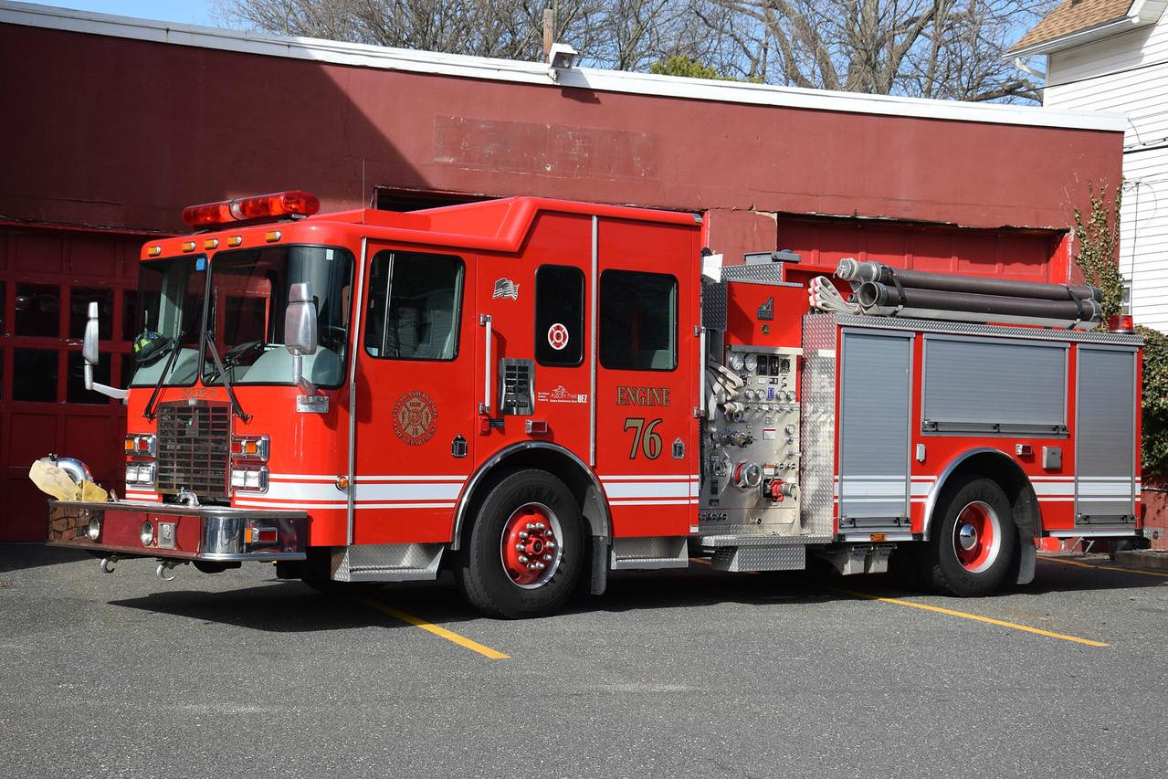 Asbury Park Fire Department Engine 83-76