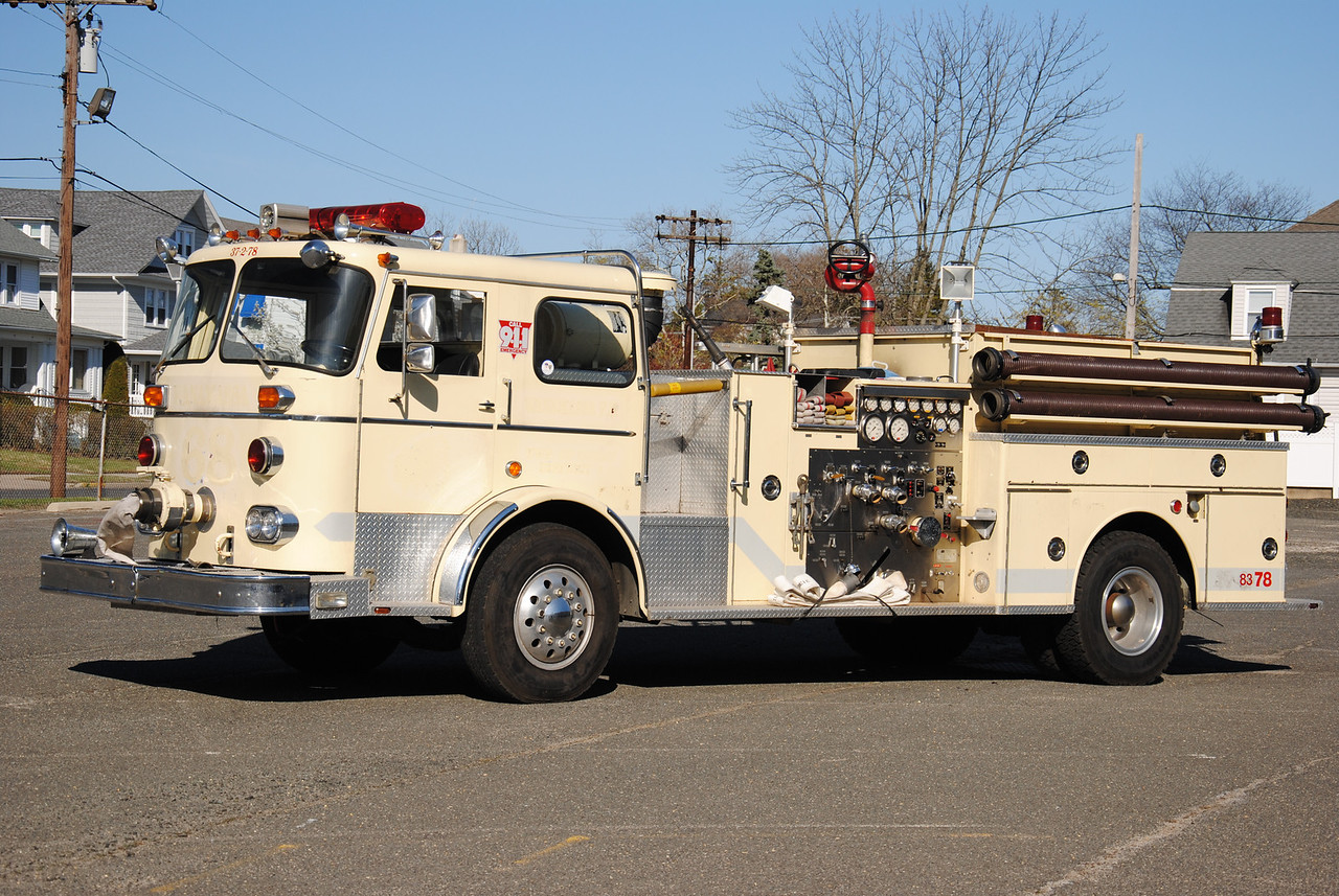 Asbury Park Fire Department, Asbury Park Reserve Engine 83-78