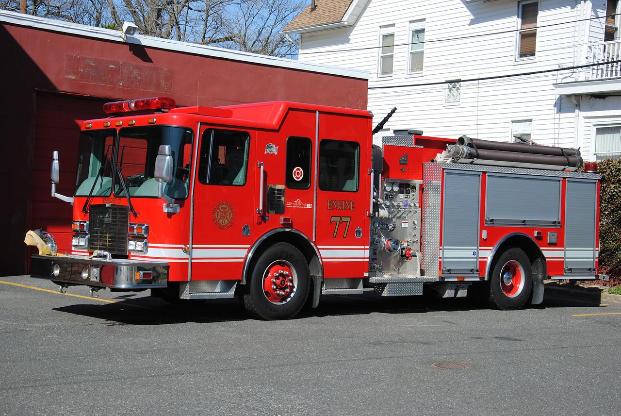 Asbury Park Fire Department, Asbury Park Engine 77
