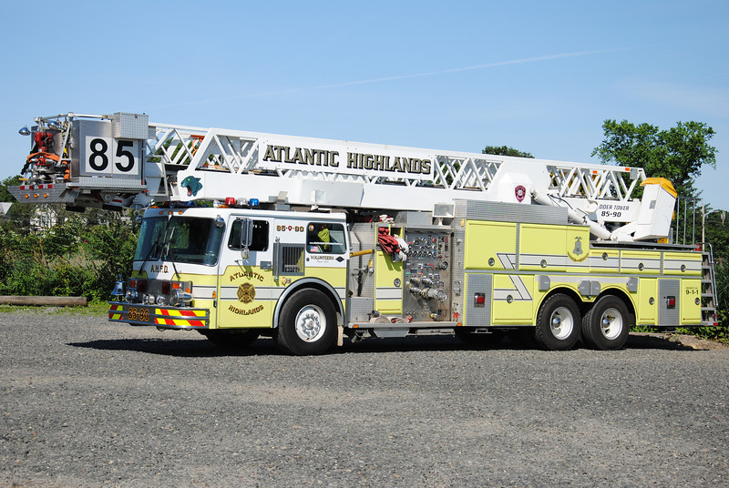 Atlantic Highlands Fire Department Tower 85-90