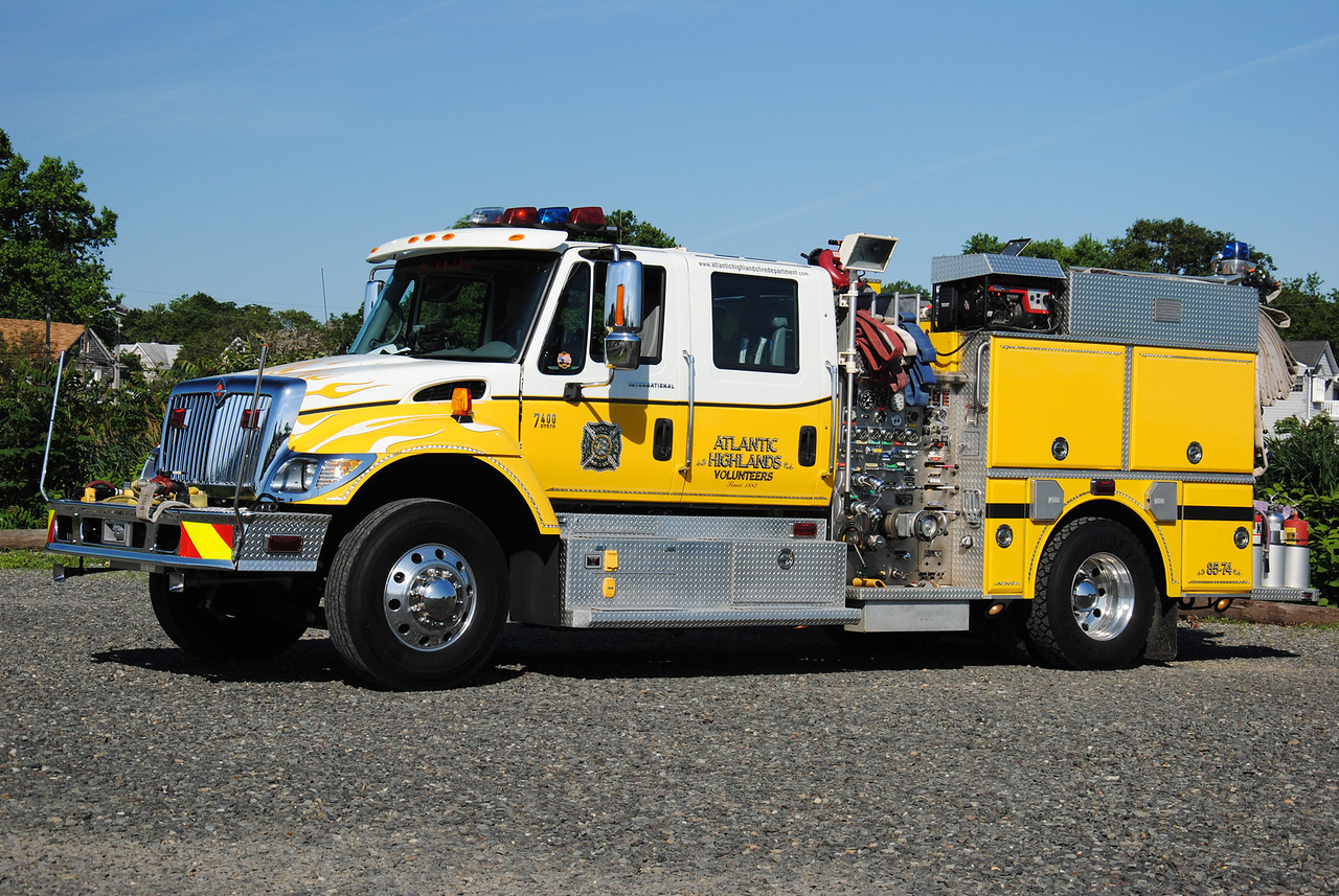 Atlantic Highlands Fire Department, Atlantic Highlands Engine 85-74