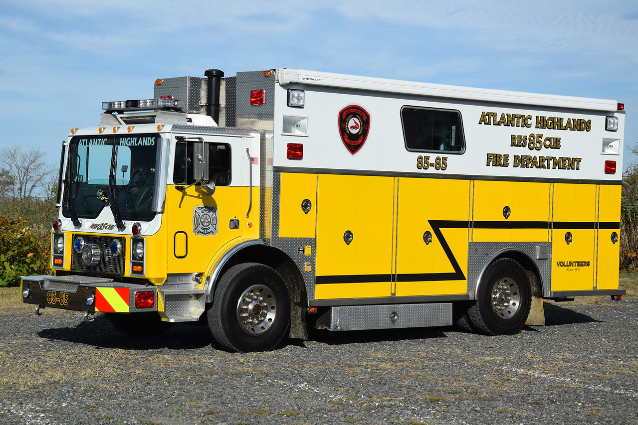 Atlantic Highalnds Fire Department Rescue 85-85