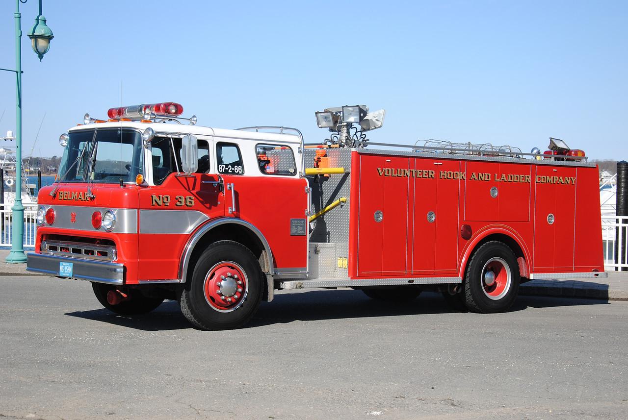 Volunteer H&L Company, Belmar Rescue 87-2-86