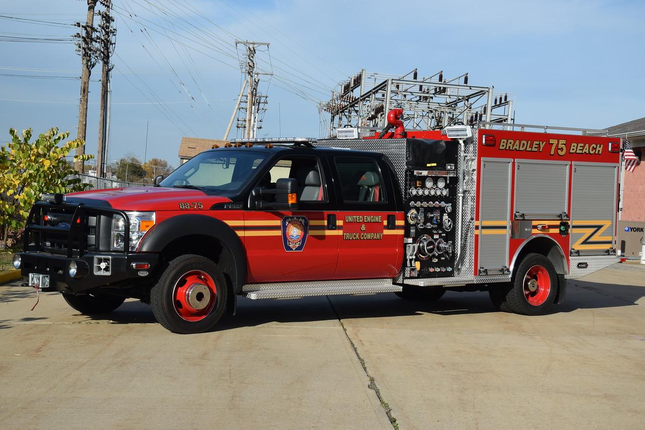 United Engine & Truck Company Mini Engine 88-75