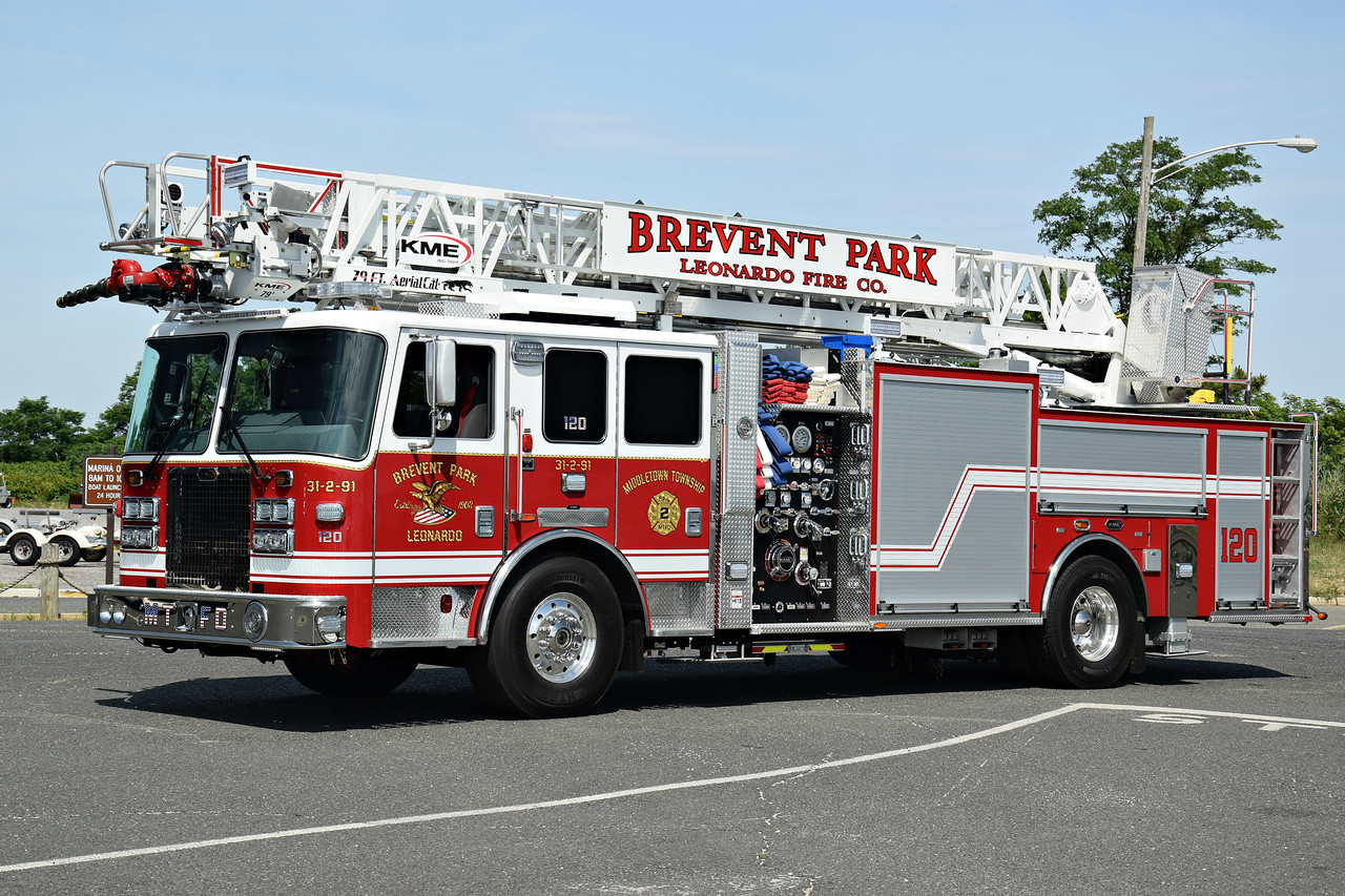Brevent Park  & Leonardo Fire Company Ladder 31-2-91