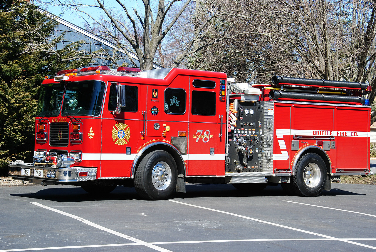 Brielle Fire Department Engine 99-78