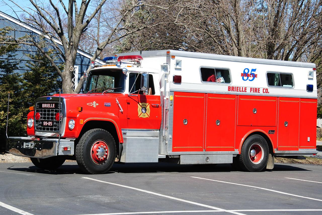 Brielle Fire Department, Brielle Rescue 99-85